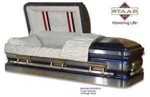 """Heroes In Honor"" Caskets"